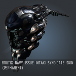 Brutix Navy Issue Intaki Syndicate SKIN (Permanent)