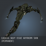 Caracal Navy Issue Wiyrkomi SKIN (permanent)
