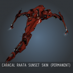 Caracal Raata Sunset SKIN (Permanent)