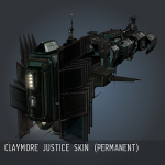Claymore Justice SKIN (Permanent)