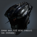 Dominix Navy Issue Intaki Syndicate SKIN (Permanent)
